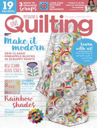 Love Patchwork & Quilting Issue86