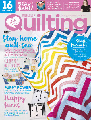 Love Patchwork & Quilting Issue87