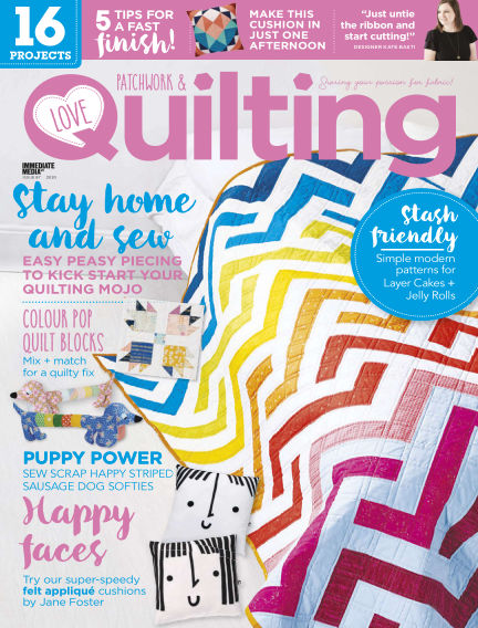 Love Patchwork & Quilting July 08, 2020 00:00