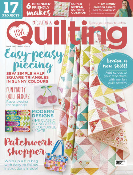Love Patchwork & Quilting August 05, 2020 00:00