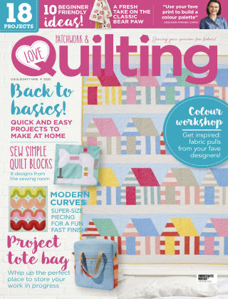 Love Patchwork & Quilting Issue89