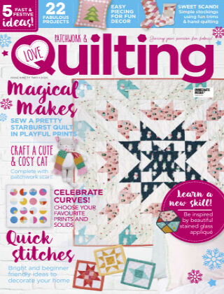 Love Patchwork & Quilting Issue92