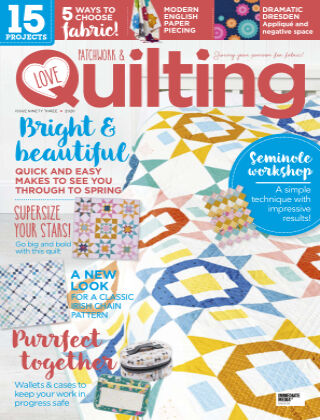 Love Patchwork & Quilting Issue93