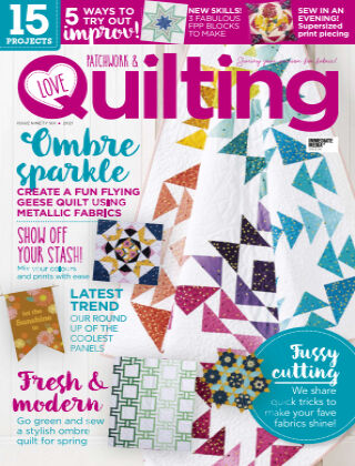 Love Patchwork & Quilting Issue96