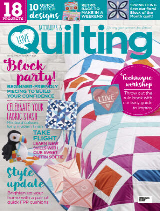 Love Patchwork & Quilting Issue97