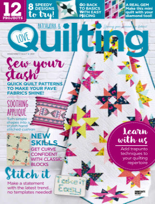 Love Patchwork & Quilting Issue98