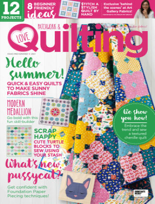 Love Patchwork & Quilting Issue100
