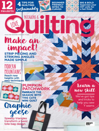 Love Patchwork & Quilting Issue102