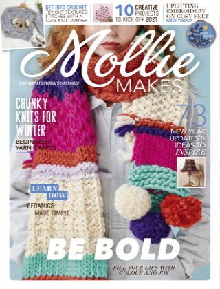 Mollie Makes January2021