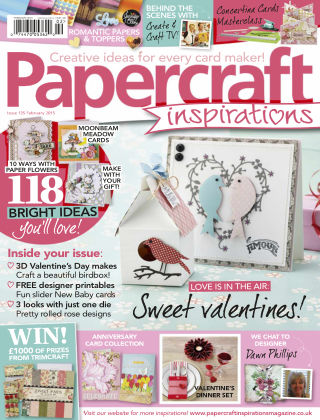 Papercraft Inspirations February 2015