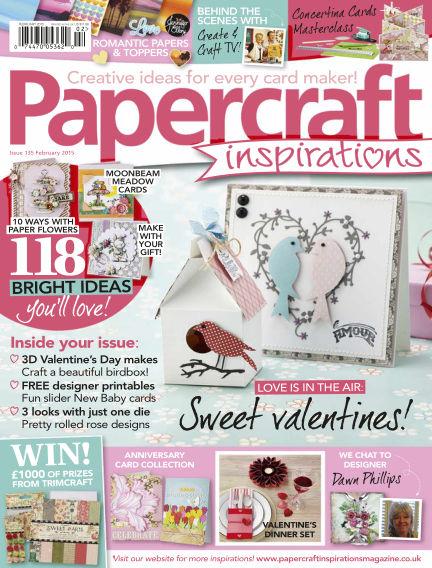 Papercraft Inspirations January 06, 2015 00:00