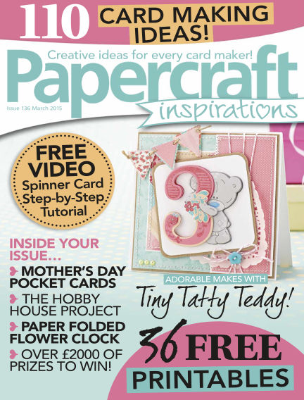 Papercraft Inspirations February 03, 2015 00:00