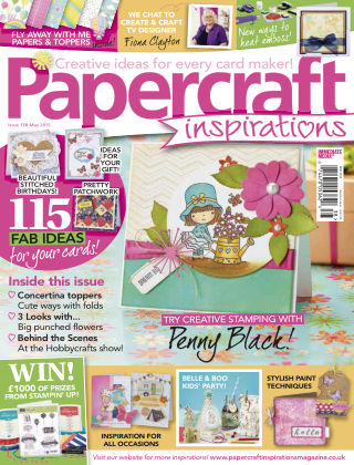 Papercraft Inspirations May 2015