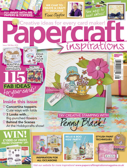 Papercraft Inspirations March 31, 2015 00:00