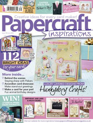 Papercraft Inspirations Jun 2015