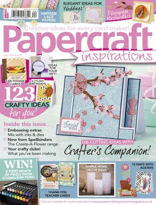 Papercraft Inspirations July 2015