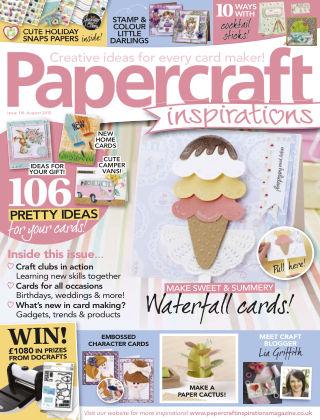 Papercraft Inspirations Aug 2015