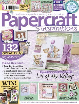Papercraft Inspirations Sep 2015