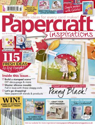 Papercraft Inspirations Oct 2015