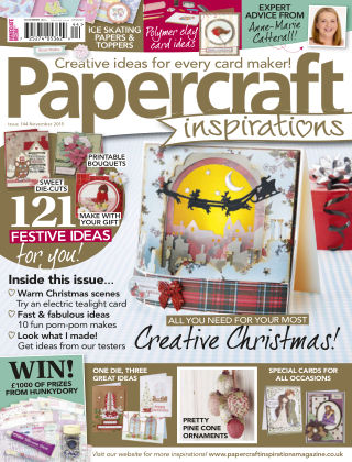 Papercraft Inspirations Nov 2015