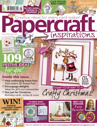 Papercraft Inspirations Dec 2015