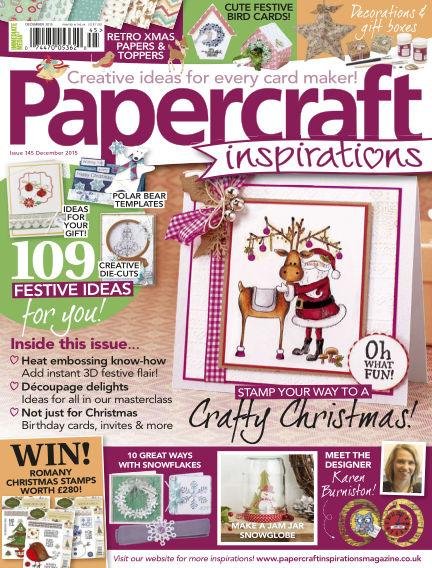 Papercraft Inspirations October 09, 2015 00:00