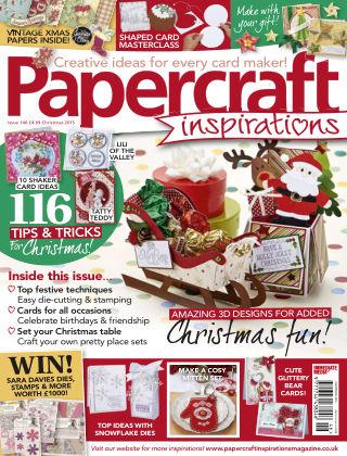 Papercraft Inspirations Xmas 2015