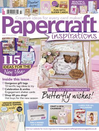 Papercraft Inspirations Jan 2016