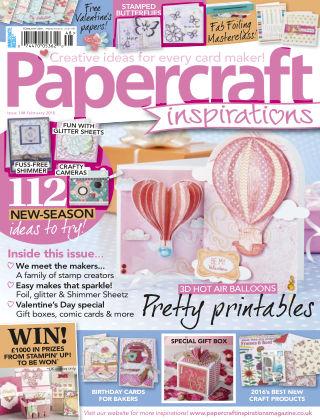 Papercraft Inspirations Feb 2016