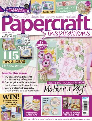 Papercraft Inspirations Mar 2016