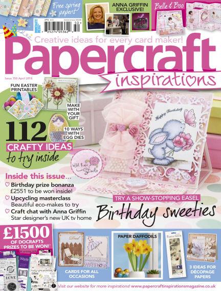 Papercraft Inspirations February 25, 2016 00:00