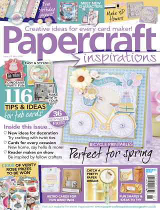 Papercraft Inspirations May 2016