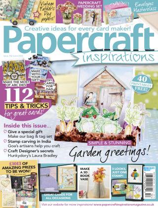Papercraft Inspirations Jun 2016