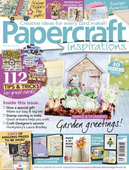 Papercraft Inspirations April 21, 2016 00:00