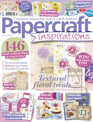 Papercraft Inspirations Jul 2016