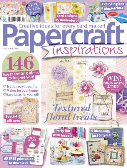 Papercraft Inspirations May 21, 2016 00:00