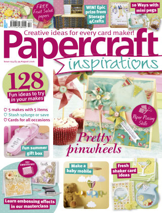 Papercraft Inspirations Aug 2016