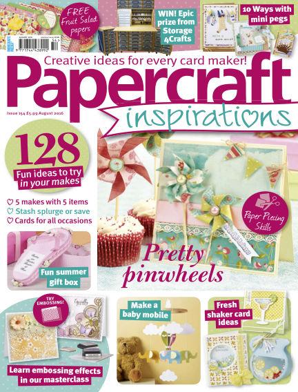 Papercraft Inspirations June 16, 2016 00:00