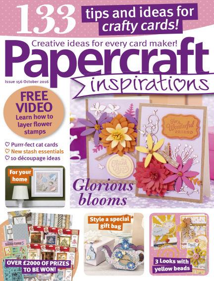 Papercraft Inspirations August 11, 2016 00:00