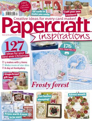 Papercraft Inspirations November 2016