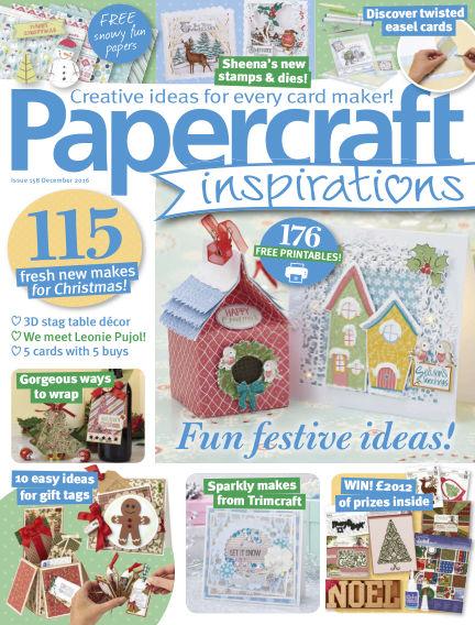 Papercraft Inspirations October 06, 2016 00:00
