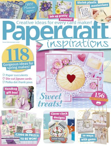 Papercraft Inspirations December 01, 2016 00:00