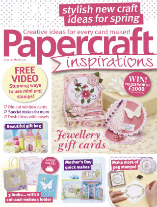 Papercraft Inspirations March 2017