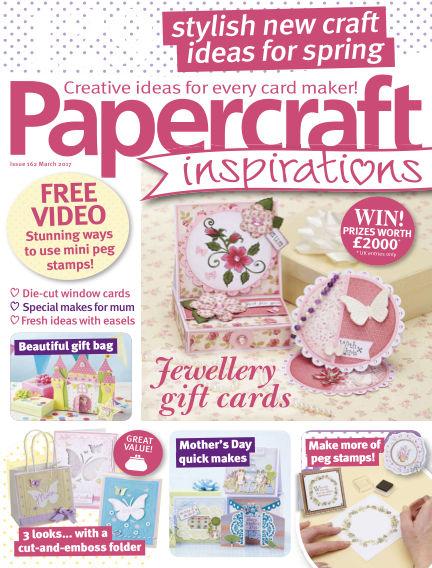 Papercraft Inspirations January 26, 2017 00:00