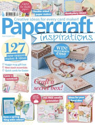 Papercraft Inspirations April 2017