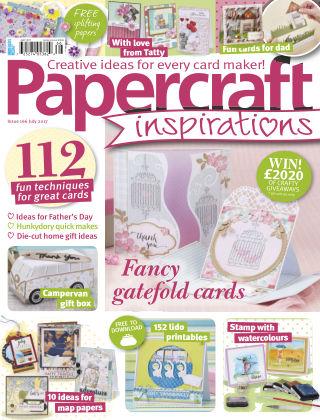 Papercraft Inspirations Jul 2017