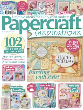 Papercraft Inspirations Aug 2017