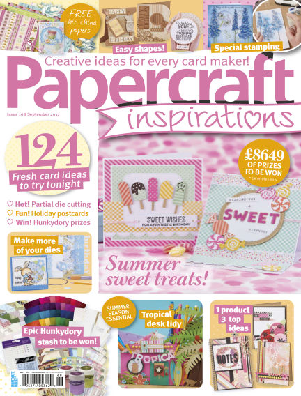 Papercraft Inspirations July 13, 2017 00:00