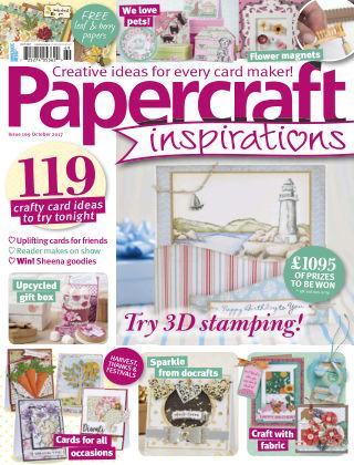 Papercraft Inspirations October 2017