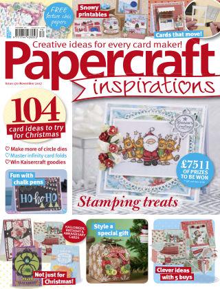 Papercraft Inspirations November 2017